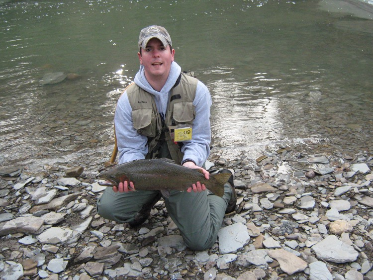 Steelhead fishing in pennsylvania fish this pa for Trout fishing pa