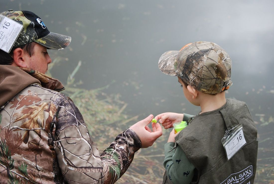 Mentored Youth Trout Fishing